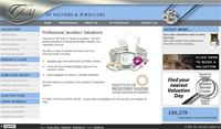 The Guild of Valuers and Jewellers. A jewellery valuation site for B to B and B to C 				<p>Also includes a secure login area for customers to manage their own catalogue of insurance specific items.