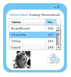 PhoneBook screen shot