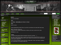 A bespoke Network gaming events site. 				Allows the public to find and sign up to local console and PC gaming events.<p> 				<p>Site is built and designed entirely in house, with a full CMS back end, allowing users to add articles, and general site content. 				<p>Also features an event management application. 				<p>Also includes affiliate marketing with Amazon and Game.co.uk